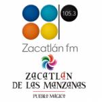 Logo da emissora Radio Zacatlán 105.3 FM