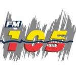 Logo da emissora Radio FM 105.3