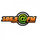 Logo da emissora Radio Arroba 105.5 FM