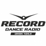 Logo da emissora Radio Record Omsk 104.4 FM