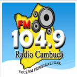 Logo da emissora Rádio Cambuca 104.9 FM