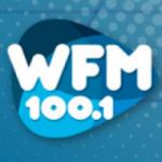 Logo da emissora Radio WFM 100.1 FM