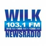 Logo da emissora WILK 980 AM