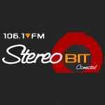 Logo da emissora Radio Stereo Bit 106.1 FM