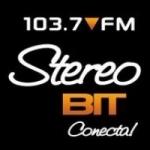 Logo da emissora Radio Stereo Bit 103.7 FM