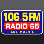 Logo da emissora Radio 65 FM 106.5