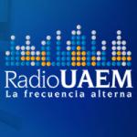 Logo da emissora Radio UAEM 91.9 FM