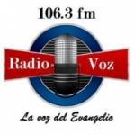 Logo da emissora Radio Voz 106.3 FM