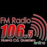 Logo da emissora Radio Nueva Ciudad Guerrero 106.5 FM