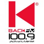 Logo da emissora Radio Back 100.9 FM