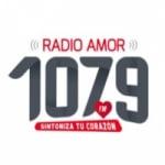 Logo da emissora Radio Amor 107.9 FM