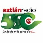 Logo da emissora Aztlán Radio 550 AM