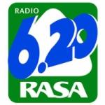 Logo da emissora Radio Rasa 620 AM