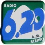 Logo da emissora Radio 6.20 AM