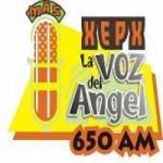 Logo da emissora Radio La Voz del Angel 650 AM