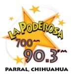 Logo da emissora Radio La Poderosa 700 AM 90.3 FM