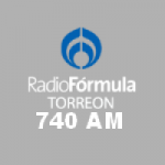Logo da emissora Radio Fórmula 740 AM 105.9 FM