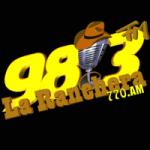 Logo da emissora Radio La Ranchera 98.3 FM 770 AM