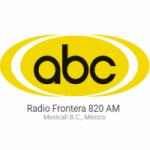 Logo da emissora Radio Frontera 820 AM