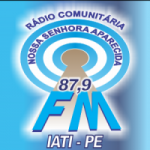 Logo da emissora Rádio 87 FM Iati