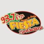 Logo da emissora Radio Fiesta Mexicana 93.7 FM