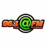 Logo da emissora Radio Arroba 96.1 FM