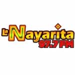 Logo da emissora Radio La Nayarita 97.7 FM