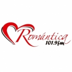 Logo da emissora Radio Romántica 101.9 FM
