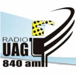 Logo da emissora Radio UAG 840 AM