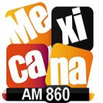Logo da emissora Radio La Mexicana 860 AM