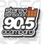 Logo da emissora Radio Stereo Sensación 90.5 FM