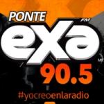 Logo da emissora Radio Exa 90.5 FM