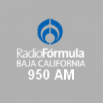 Logo da emissora Radio Fórmula Baja California 950 AM