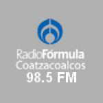 Logo da emissora Radio Fórmula 98.5 FM