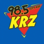 Logo da emissora WKRF 107.9 FM