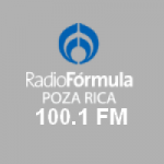 Logo da emissora Radio Fórmula 100.1 FM