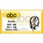 Logo da emissora ABC Radio Taxco 96.1 FM
