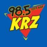 Logo da emissora WKRZ 98.5 FM