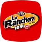 Logo da emissora Radio La Ranchera de Monterrey 1050 AM