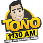 Logo da emissora Radio Toño 1130 AM