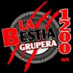 Logo da emissora Radio La Bestia Grupera 1200 AM