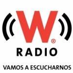 Logo da emissora W Radio 93.1 FM