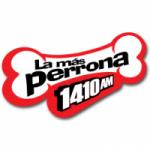 Logo da emissora Radio La Más Perrona 1410 AM