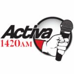Logo da emissora Radio Activa 1420 AM