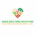 Logo da emissora Rádio Doce Terra 87.9 FM