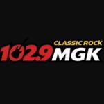 Logo da emissora WMGK 102.9 FM