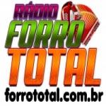 Logo da emissora Rádio Forró Total