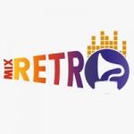 Logo da emissora Rádio Mix Retrô