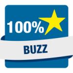 Logo da emissora Hit Rádio 100% Buzz