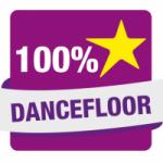 Logo da emissora Hit Rádio 100% Dancefloor